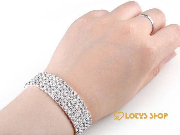 Fashion Rhinestone Crystal Elastic Bracelets Women's Hoodie Women's sport items 8d255f28538fbae46aeae7: 1 row silver|2 rows silver|3 rows silver|4 Rows Colorful|4 rows golden|4 rows silver|5 rows silver|8 rows silver
