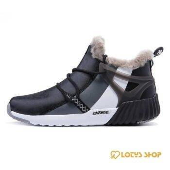 Fashion Winter Leather Men's Running Shoes Men Sport Shoes Men's sport items Sport items color: Black|Blue|Brown|Gray|White|Yellow