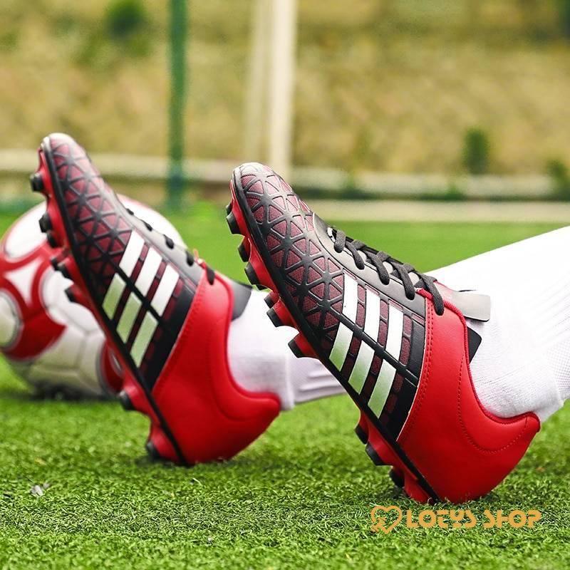 Men's High Top Football Shoes Men Sport Shoes Men's sport items Sport items color: see chart