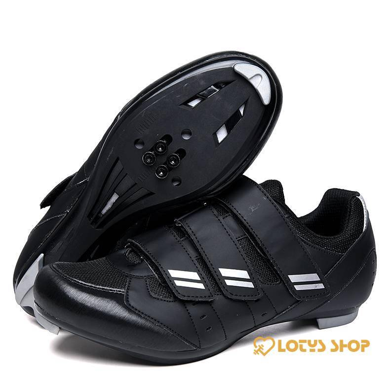 Self-Locking Road and Mountain Cycling Shoes