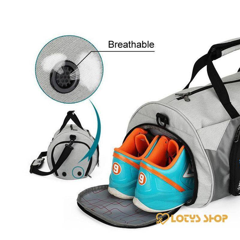 Waterproof Gym Shoulder Bag Accessories Bags and Luggage Men's Bags and Luggage color: Black Big|Black Small|Black XL|Blue Big|Blue Small|Deep Grey Big|Deep Grey Small|Deep Grey XL|Gray Big|Grey Small