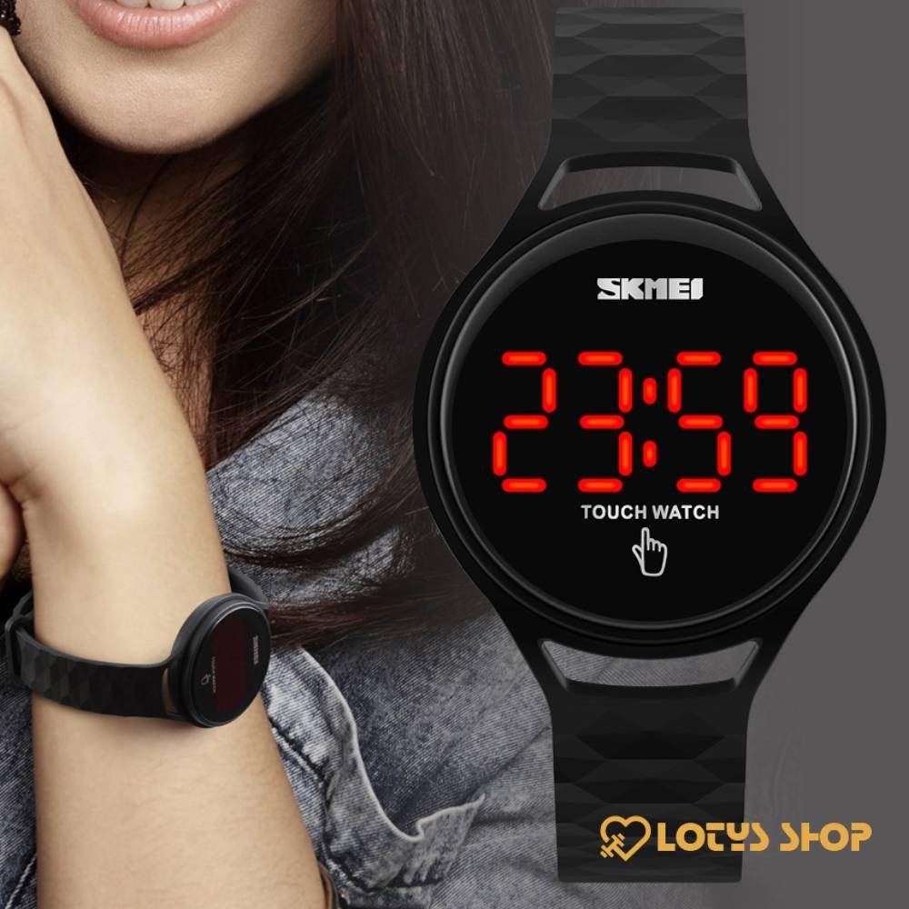 Women's LED Sport Watch Accessories Watches Women's watches color: Black Blue Light Green Red Yellow