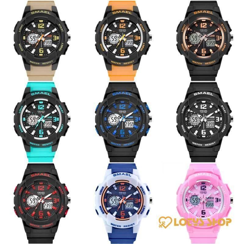 Women's Two Color Design LED Sport Watch Accessories Watches Women's watches color: Black / Blue|Black Golden|black red|black silver|Blue / White|Khaki|Light Blue|Orange|Pink