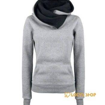 Women's Winter Sports Hoodie Outdoor Sports color: Black|Blue|Gray|Green|Khaki