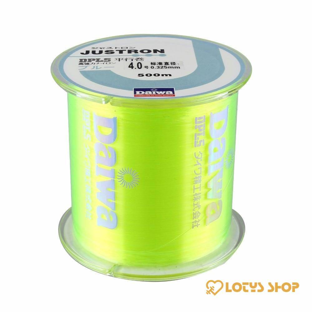 Solid Color Monofilament Nylon Fishing Line Fishing & Hunting Outdoor Sports color: Black 500 m|Blue 500 m|Green 500 m|Pink 500 m|Red 500 m|White 500 m|Yellow 500 m