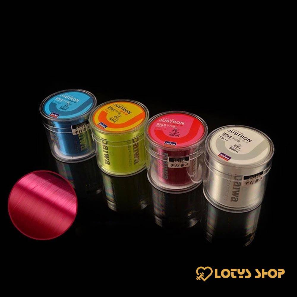 Strong Monofilament Fishing Line Outdoor Sports color: Blue|Green|Grey|Orange|Pink|Red|White|Yellow