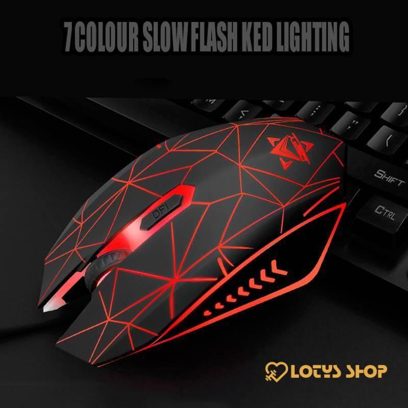 Waterproof Illuminated Keyboard for Gaming Gaming & Entertainment Gaming Keyboards color: Black|black red|White