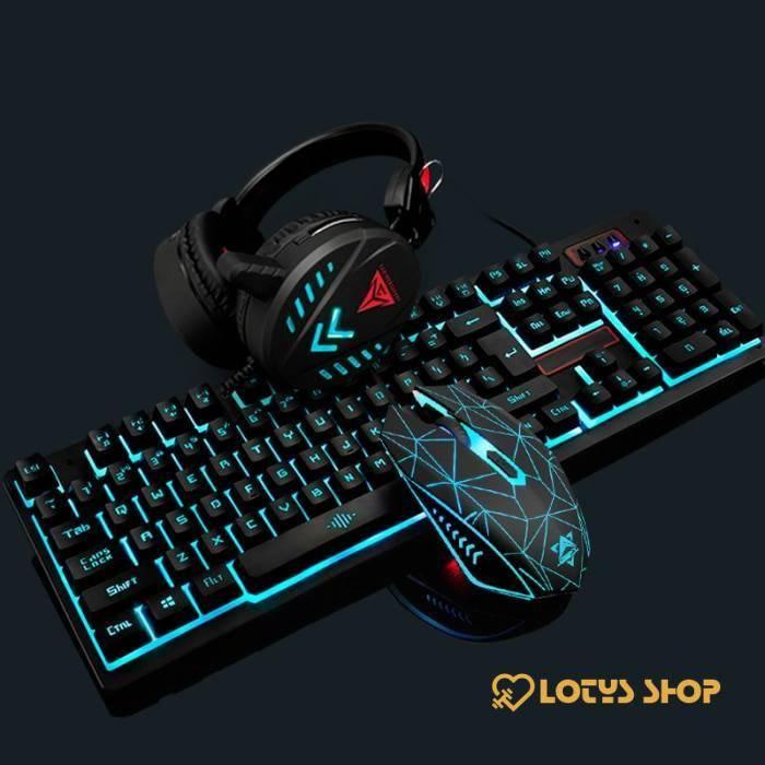 Waterproof Illuminated Keyboard for Gaming
