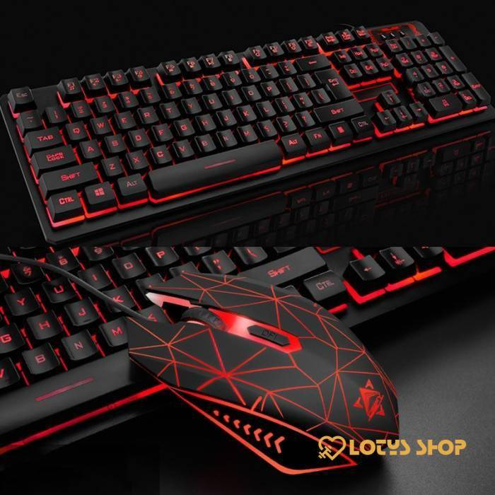 Waterproof Illuminated Keyboard for Gaming