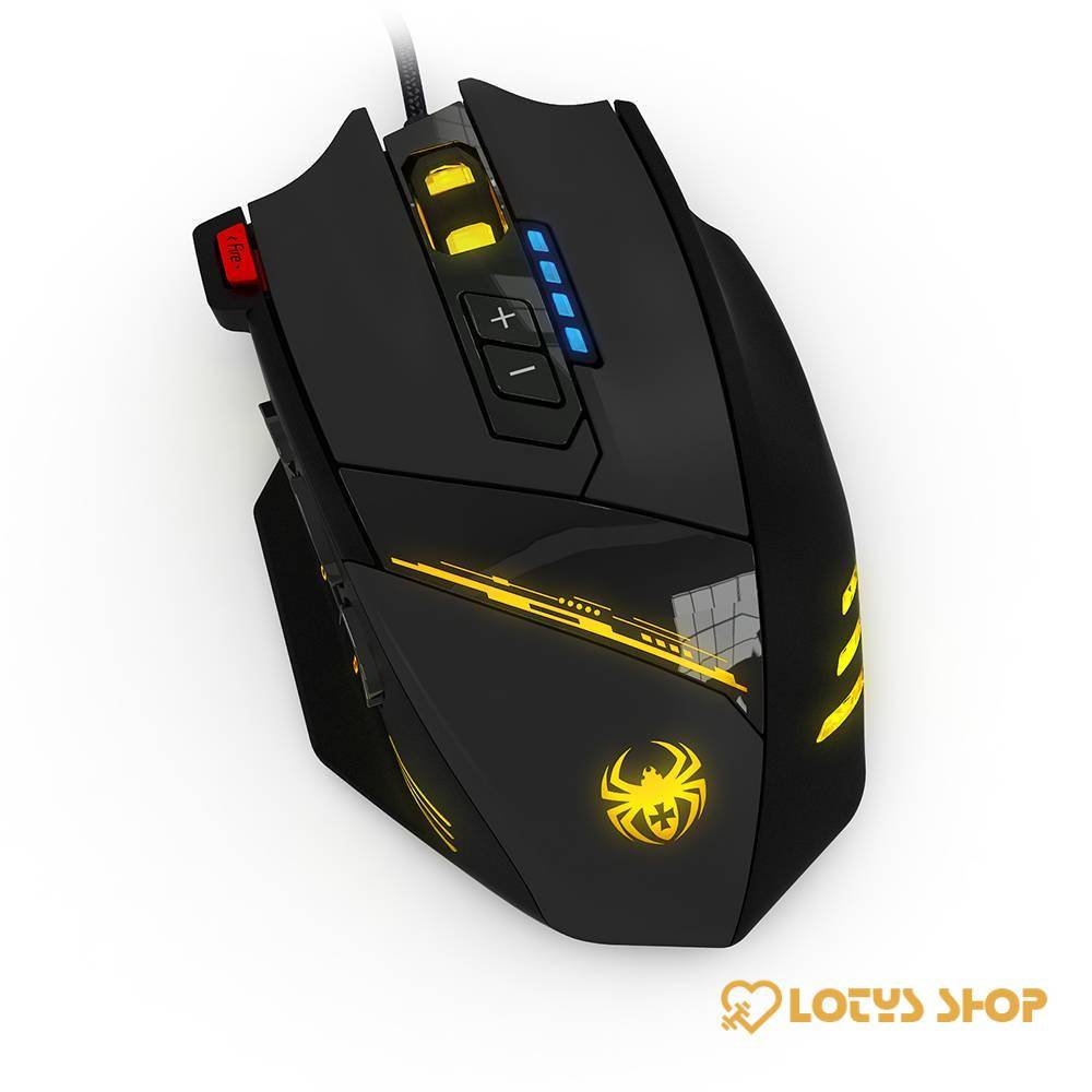 12-Buttons Programmable Wired Gaming Mouse