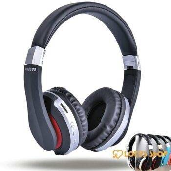 Foldable Stereo Gaming Headphones Gaming & Entertainment color: Blue|Gold|Red|Silver