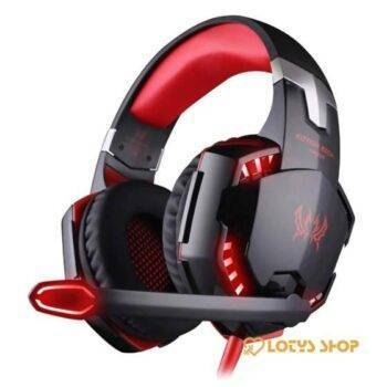 Futuristic Style LED Gaming Headphones Gaming & Entertainment color: Blue|Blue/Black|Orange|Red|Red 1|red black|Sky Blue