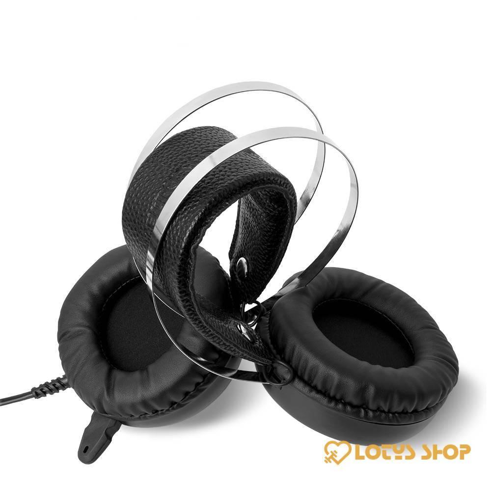 Professional Gaming Headset Headphones Gaming & Entertainment bfb47e15afae94dd255571: 3.5mm Long MIC|3.5mm Short MIC|7.1 Long MIC|7.1 Short MIC