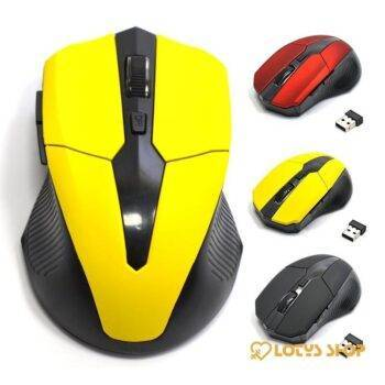 USB Wireless Red Optical Gaming Mouses Gaming & Entertainment PC Gaming Mouse & Mouse Pads color: Black|Red|Yellow