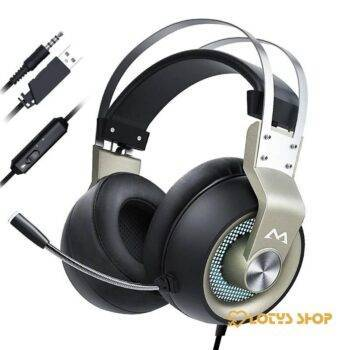 Wired Gaming Headphones with Mic Gaming & Entertainment color: Black|Black with Blue