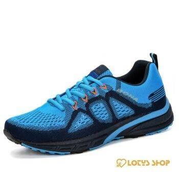 Men's Training Lightweight Sneakers Men Sport Shoes Men's sport items Sport items color: Black|Blue|Red