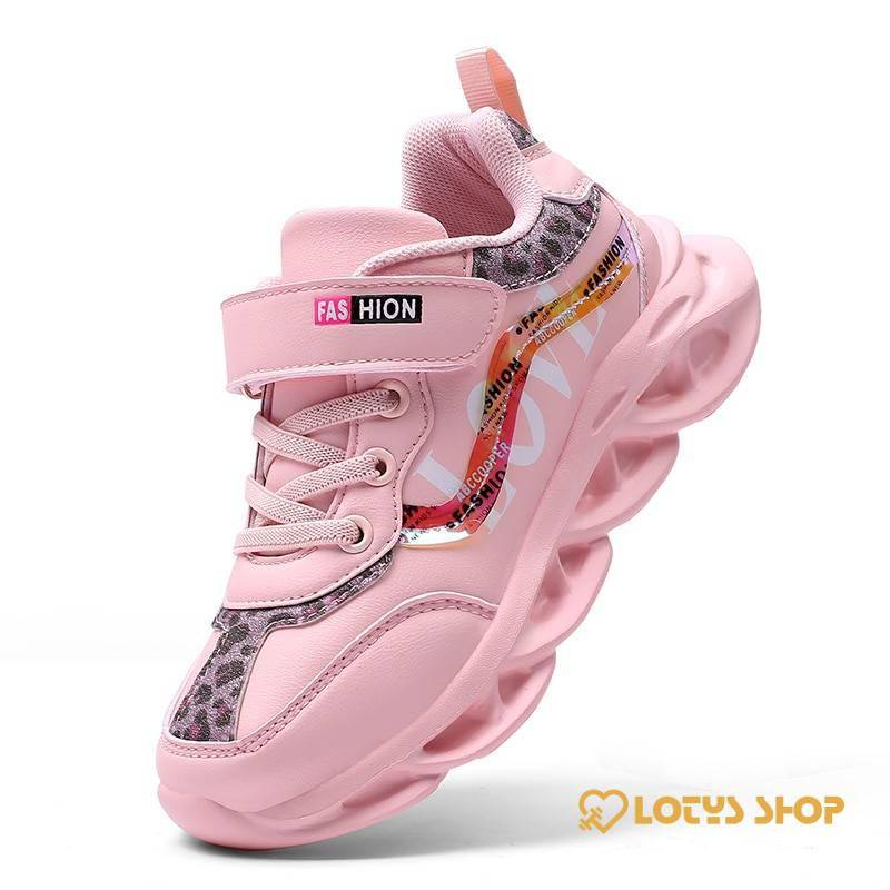 Kids Sport Sneakers Kids sport items Kids Sport Shoes Sport items color: Pink|Red|White