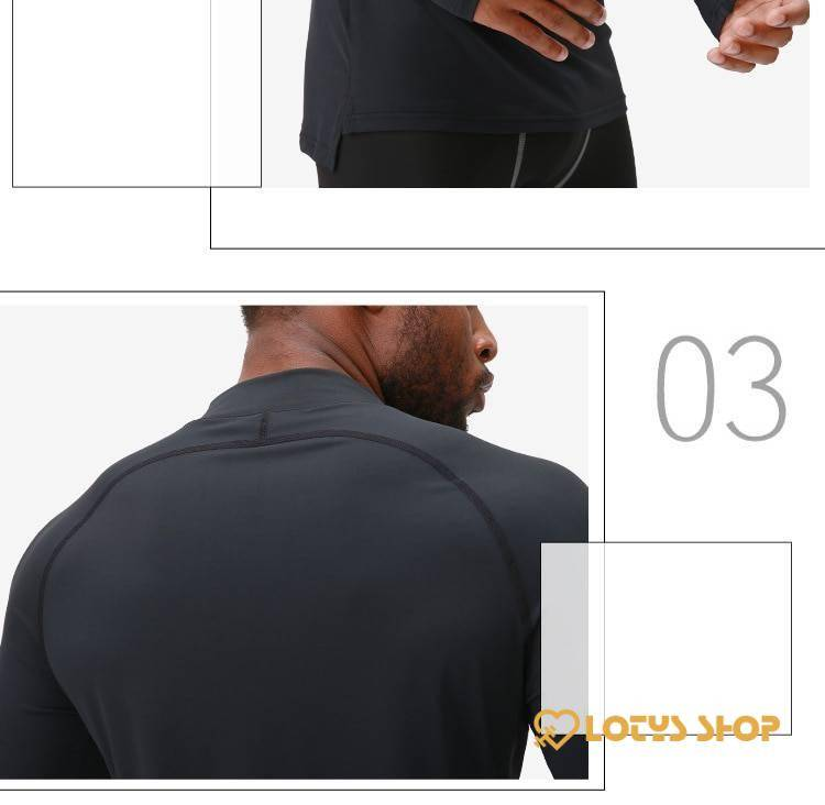 Dry Fit Compression Shirt for Men