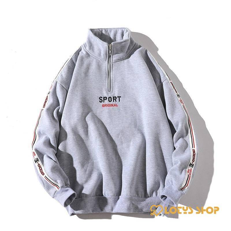 Men's Sport Hoodie Men's Hoodie Men's sport items Sport items color: Black|Grey|Red|Yellow