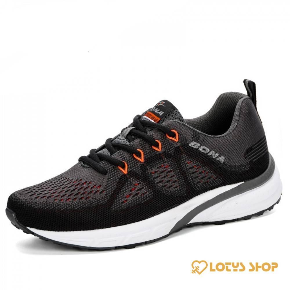 Men's Training Lightweight Sneakers Men Sport Shoes Men's sport items Sport items color: Black Blue Red