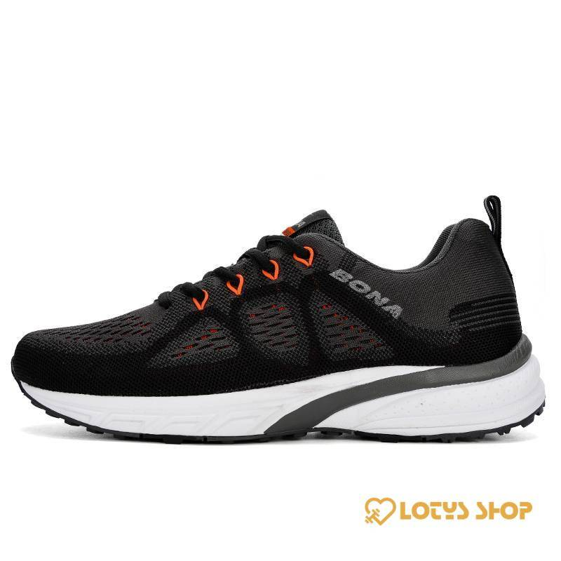 Men's Training Lightweight Sneakers Men Sport Shoes Men's sport items Sport items color: Black|Blue|Red
