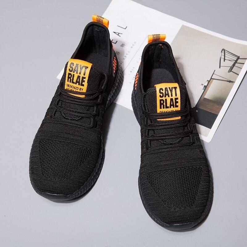 Men's Breathing Air Mesh Summer Sport Shoes Men Sport Shoes Men's sport items Sport items color: Black Orange black white Black Yellow Red White Yellow