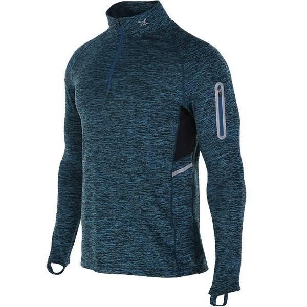 Men's Sport Elastic T-Shirt Men's sport items Men's t-shirts Sport items color: Dark Blue size: M